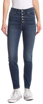 Lucky Brand Bridgette Button Fly Skinny Jeans