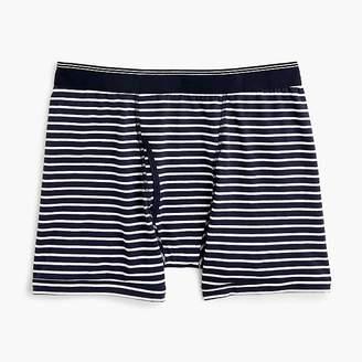 J.Crew Stretch navy striped boxer briefs