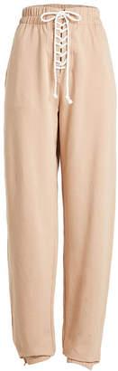 FENTY PUMA by Rihanna Lace-Up Sweatpants with Cotton