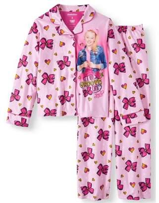 Jo-Jo Jojo Coat Pajama Sleep Set (Big Girl & Little Girl)