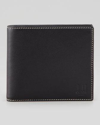 Alfred Dunhill 8CC Billfold Wallet, Black