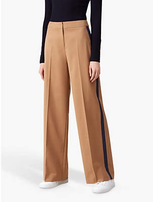 Isla Wide Leg Trousers, Camel
