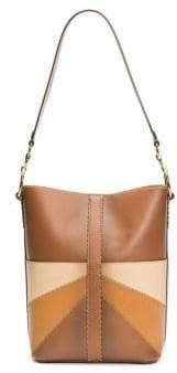 Frye Ilana Colorblock Bucket Hobo Bag