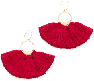 serefina Tassel Earrings $66 thestylecure.com