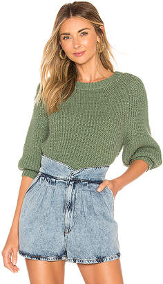 Apiece Apart Serra Crop Sweater