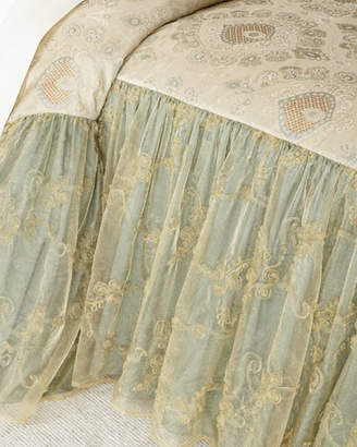 "Sweet Dreams Crystal Palace 28""L Queen Coverlet"