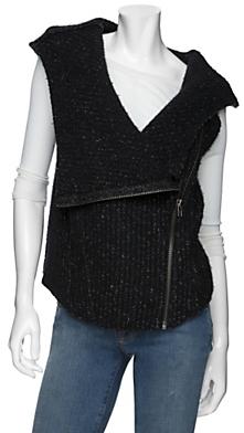 Helmut Lang Exclusive Hooded Wool Vest