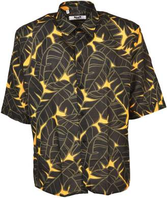 MSGM Jungle Print Shirt