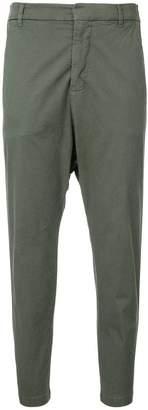 Nili Lotan grosgrain tape twill trousers