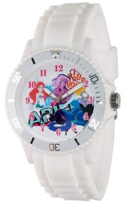 Disney Women's Princess Ariel White Plastic Watch - White