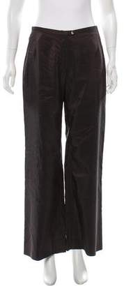 Dries Van Noten Wide-Leg Silk Pants