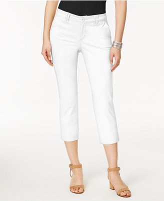 Style & Co Slim-Leg Capri Pants, Created for Macy's $49.50 thestylecure.com