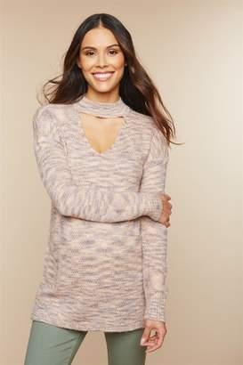 Motherhood Maternity Choker Maternity Sweater