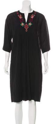 Giada Forte Embroidered Shift Dress w/ Tags