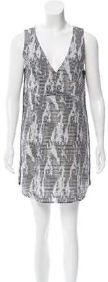 Ramy Brook Printed Sleeveless Dress