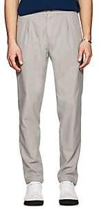 Marco Pescarolo Men's Cotton-Blend Basket-Weave Trousers - Light Gray