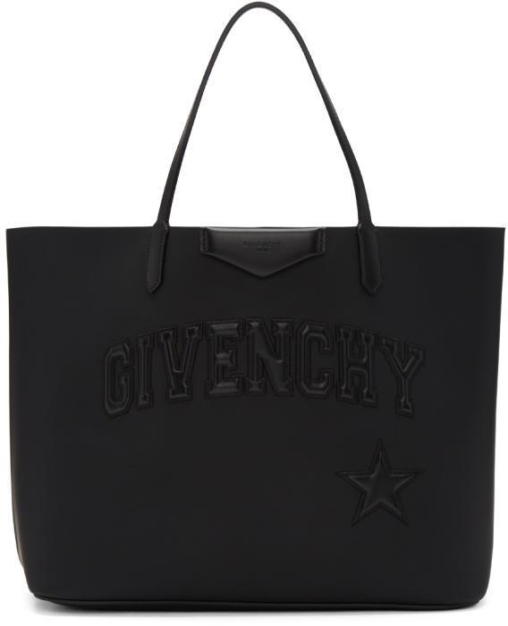 Givenchy Black Large Antigona Shopper Tote