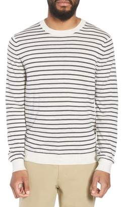 Vince Stripe Crewneck Wool & Cashmere Sweater