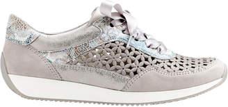 ara Lissabon Grey/Light Blue Sneaker