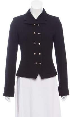 Milly Vintage Wool Tweed Blazer