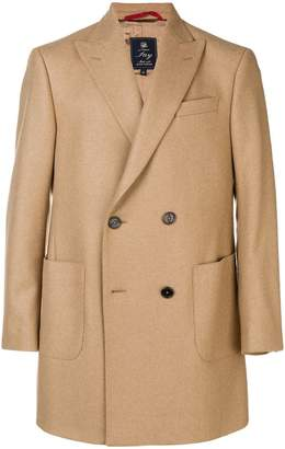 Fay double-breasted coat