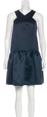 Tibi Satin Mini Dress