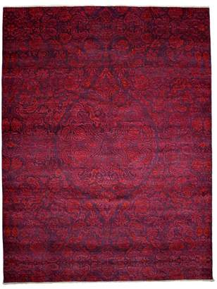 """Solo Rugs Suzani Collection Oriental Rug, 9' x 11'9"""""""
