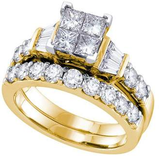 Dolce & Gabbana The Brand 2.00ctw Diamond Invisible Bridal Set
