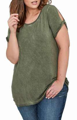 Addition Elle LOVE AND LEGEND Twisted Short Sleeve Tee
