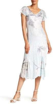 Komarov Flutter Sleeve Dress