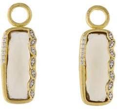 Jude Frances 18K Citrine & Diamond Earring Enhancers