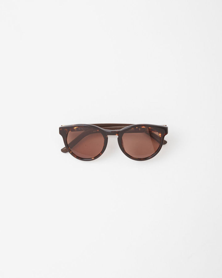The Row Large Round Sunglasses