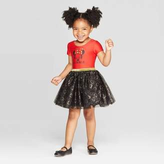 Minnie Mouse Toddler Girls' Minnie Mouse Tutu Dress - Red