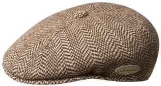 Kangol Men's 504 Wool-Blend Herringbone Flat Ivy Cap