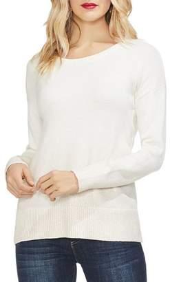 Vince Camuto Drop-Shoulder Foiled Ombre Sweater