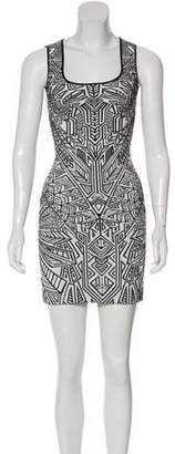 RVN Jacquard Bodycon Dress