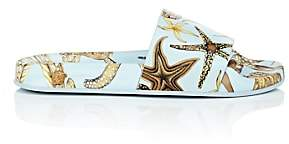 Versace Women's Starfish Rubber Slide Sandals - Lt. Blue