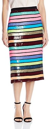 Tracy Reese Women's Sliim Skirt $498 thestylecure.com