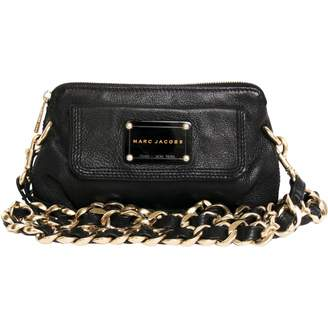 Marc Jacobs Black Leather Clutch bag