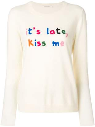 Parker Chinti & Kiss me sweater