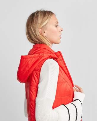 Express Hooded Puffer Vest