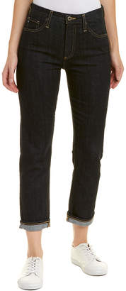 AG Jeans The Isabelle Immersed Black High-Rise Straight Crop