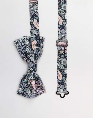 Gianni Feraud Liberty Print Strawberry Thief Bow Tie
