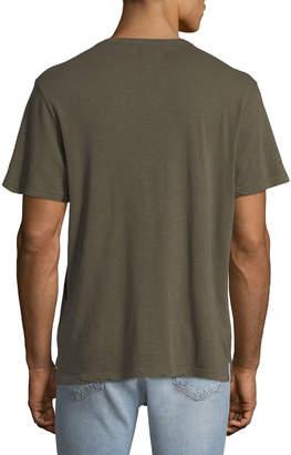 Joe's Jeans Men's Slub-Knit Henley T-Shirt