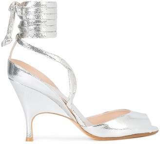 Ballin Alchimia Di wrap tie ankle sandals