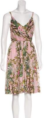 Etoile Isabel Marant Printed A-Line Dress