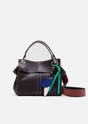 Proenza Schouler Leather Curl Handbag Black