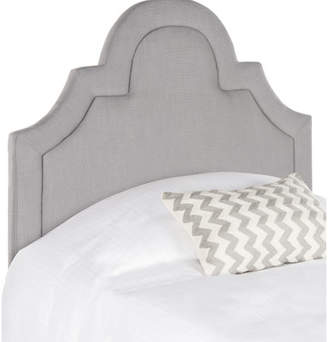 Safavieh Kerstin Arched Upholstered Panel Headboard