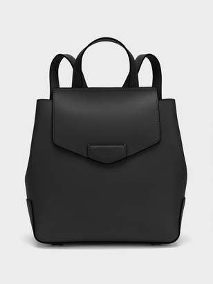 DKNY Sullivan Leather Flap Backpack