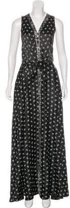 Pierre Balmain Silk Maxi Dress